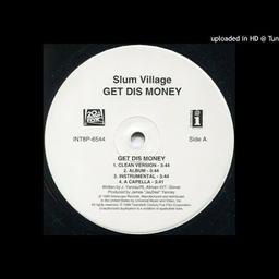Get Dis Money (Acapella)
