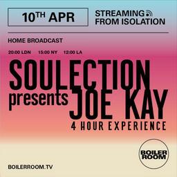 Boilerroom - Joe Kay 4 hour Streaming from Isolation #14